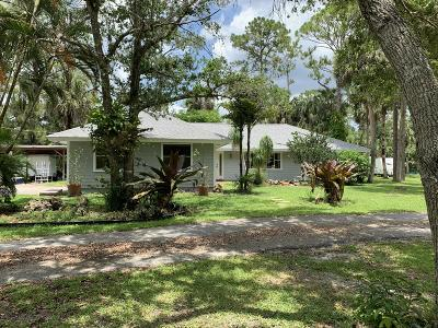 Jupiter Single Family Home Contingent: 9607 169th Court