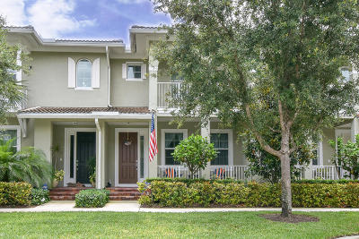 Jupiter Townhouse For Sale: 1108 S Community Drive