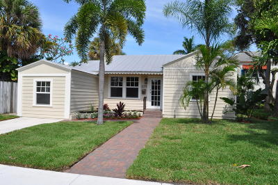 Lake Worth Single Family Home For Sale: 428 Palmway