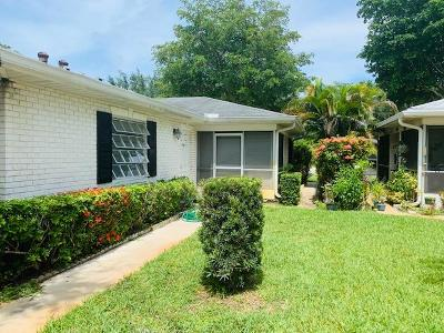 Boynton Beach Single Family Home For Sale: 10088 45th Way S #462