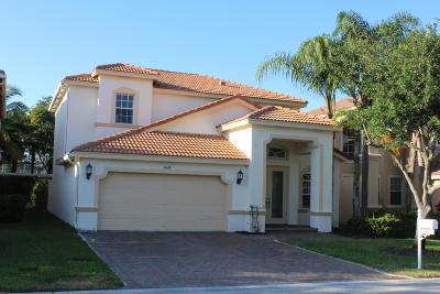 Lake Worth Single Family Home For Sale: 7049 Via Leonardo