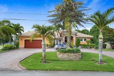 St Lucie County Single Family Home Contingent: 4288 SW Tuscol Street