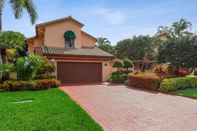 Boca Raton Single Family Home For Sale: 6379 Via Rosa