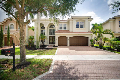 Boynton Beach Single Family Home Contingent: 11101 Misty Ridge Way