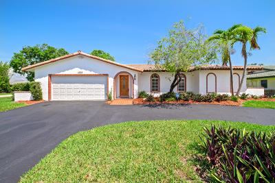 Coral Springs Single Family Home For Sale: 12093 NW 24th Street