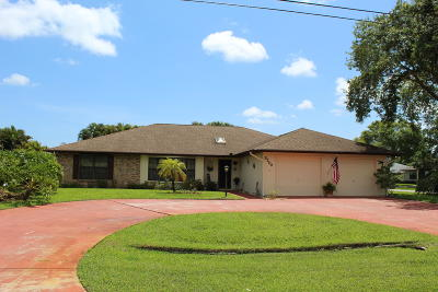 Fort Pierce Single Family Home For Sale: 5200 Feather Creek Drive