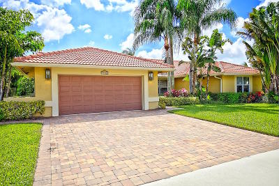 Palm Beach Gardens Single Family Home Contingent: 13422 Bradfords Wharf Circle