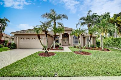Boca Raton Single Family Home For Sale: 21432 Gosier Way