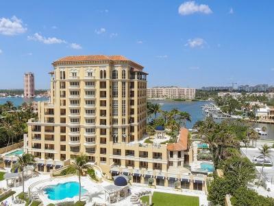 Palm Beach County Condo For Sale: 400 S Ocean Boulevard #Villa 25