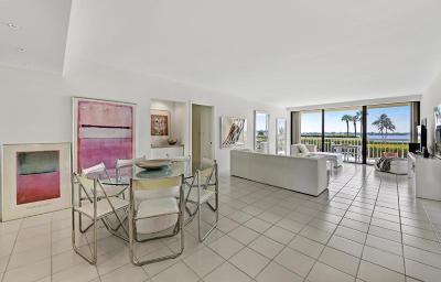 Palm Beach Rental For Rent: 3300 S Ocean Boulevard #107n