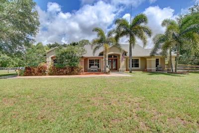 West Palm Beach Single Family Home For Sale: 14575 94th Street