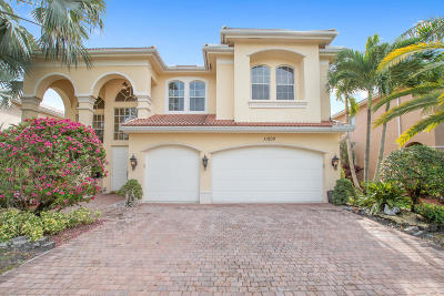 Boynton Beach Single Family Home For Sale: 11200 Brandywine Lake Way