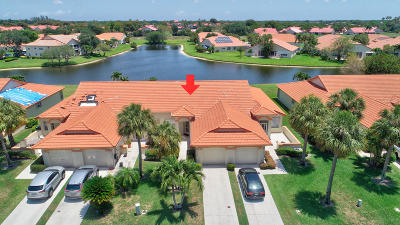 Delray Beach Single Family Home Contingent: 15204 W Tranquillity Lake Drive