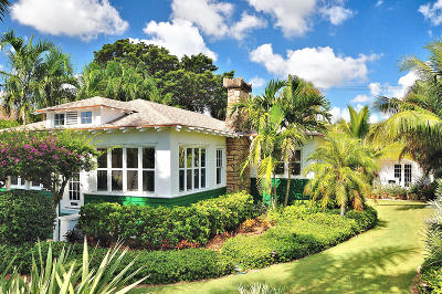 Lake Worth Single Family Home For Sale: 125 Lakeside Drive