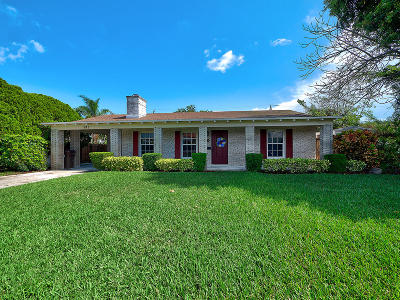 West Palm Beach Single Family Home Contingent: 941 Paseo Palmera