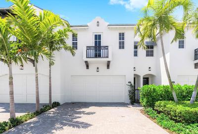 Delray Beach Townhouse For Sale: 918 St George Boulevard
