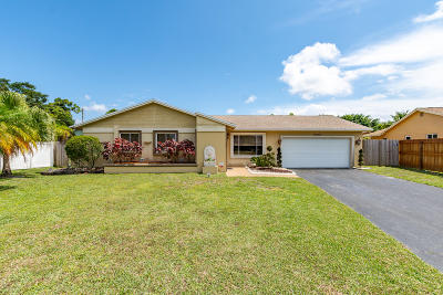 Boca Raton Single Family Home Contingent: 22696 SW 54th Avenue