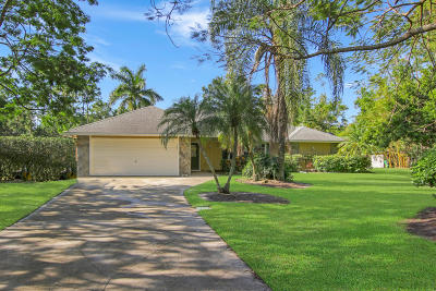 Jupiter Single Family Home For Sale: 13676 152nd Road