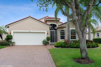 Port Saint Lucie Single Family Home For Sale: 334 NW Shoreline Circle