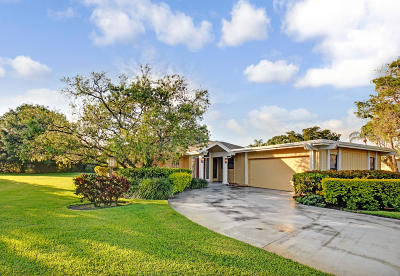 Palm Beach Gardens Single Family Home Contingent: 13252 Sand Grouse Court