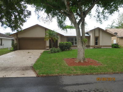 Coconut Creek Single Family Home For Sale: 4546 NW 51st Street