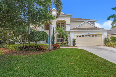 Palm City Single Family Home For Sale: 3040 SW Captiva Court