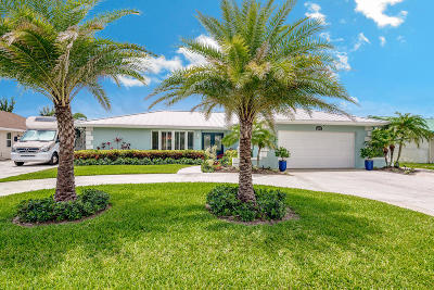 West Palm Beach Single Family Home For Sale: 1420 Carambola Road