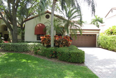 Boca Raton Single Family Home Contingent: 23500 Mirabella Circle S