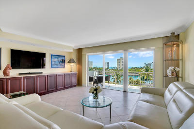 Boca Raton Condo For Sale: 875 E Camino Real #7c