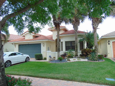 Boynton Beach Single Family Home For Sale: 6970 Fabiano Circle