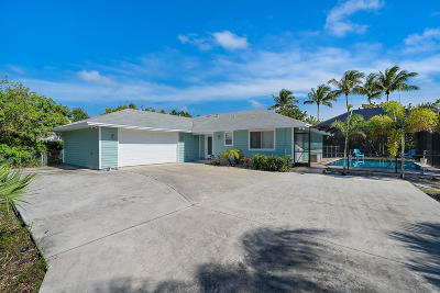 Hobe Sound Single Family Home Contingent: 9292 SE Duncan Street