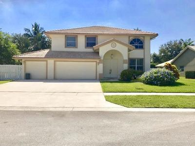 Lake Worth Single Family Home For Sale: 6574 Blue Bay Circle
