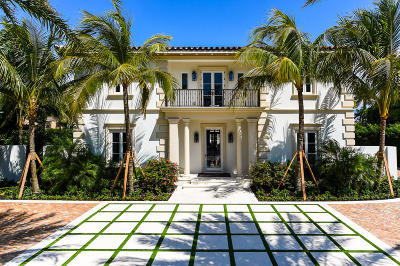 Palm Beach FL Single Family Home For Sale: $15,550,000