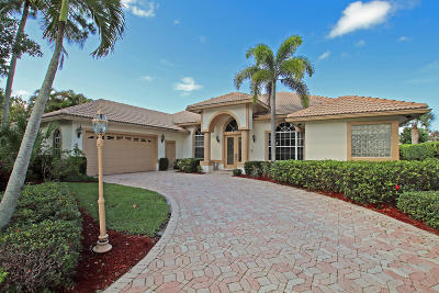 Jupiter Single Family Home For Sale: 18965 SE Coral Reef Lane