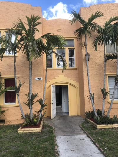 Lake Worth Multi Family Home For Sale: 110 S B Street