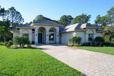 Fort Pierce Single Family Home For Sale: 9623 Knollwood Lane
