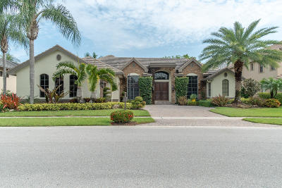 Wellington Single Family Home For Sale: 10678 Versailles Boulevard