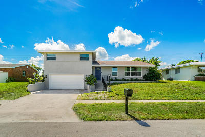 Tequesta Single Family Home For Sale: 363 Saturn Avenue