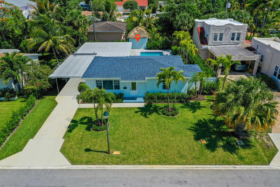 West Palm Beach Single Family Home For Sale: 117 Rutland Boulevard