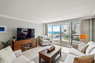Palm Beach Rental For Rent: 3546 S Ocean Boulevard #409