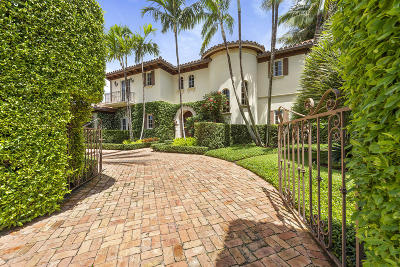 Palm Beach FL Single Family Home For Sale: $7,795,000