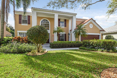 Palm Beach Gardens Single Family Home For Sale: 10221 Hunt Club Lane