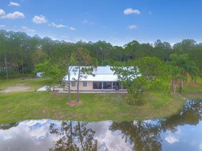 Jupiter Single Family Home For Sale: 15718 121st Terrace