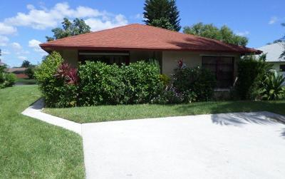 West Palm Beach Single Family Home For Sale: 1315 Summit Run Circle