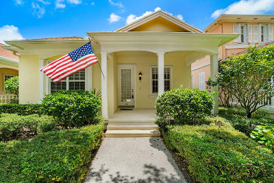 Jupiter Single Family Home For Sale: 110 Newcastle Drive
