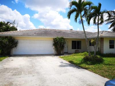 Boca Raton Single Family Home For Sale: 22379 General Street