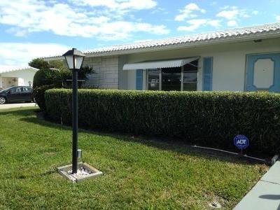 Boynton Beach Single Family Home For Sale: 2076 SW 13th Way