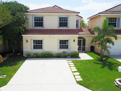 Lake Worth Townhouse For Sale: 7314 Burgess Drive