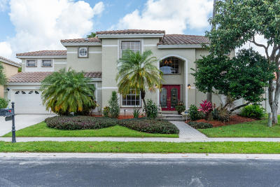Boca Raton Single Family Home For Sale: 10526 Wheelhouse Circle