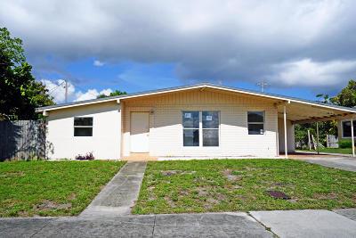 Boynton Beach Single Family Home For Sale: 1411 NW 1st Court